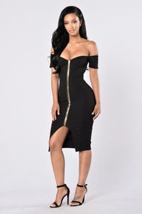 Breaking Borders Dress - Black