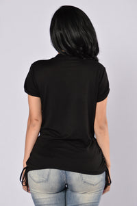 Always Neutral Top - Black Angle 3