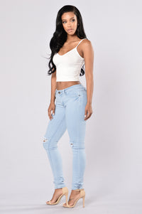 Rough And Tough Jeans - Light Blue Angle 6