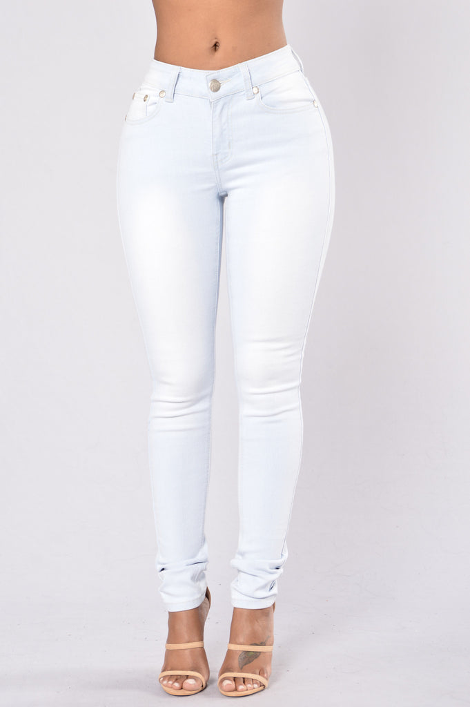 Always On Point Jeans - Light Blue