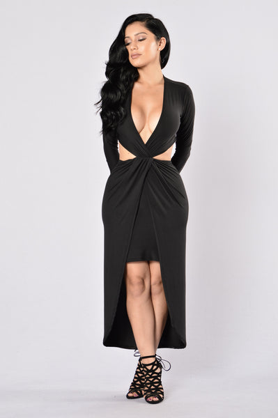 Still Got It Dress - Black