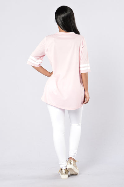 All Day Slay Tunic - Pink