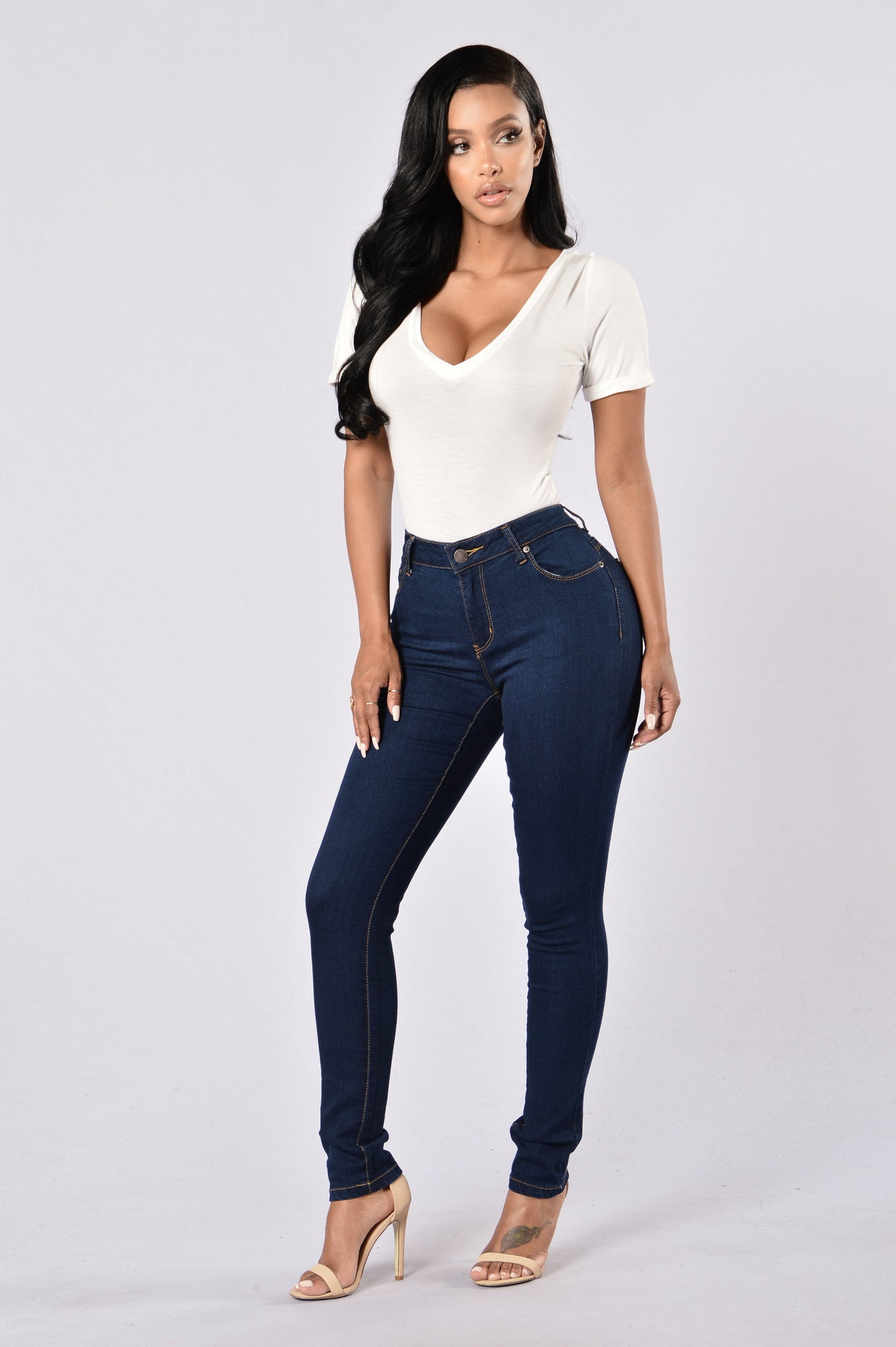 69ea7c79455 Booty Booty Booty Everywhere Shaping Denim - Medium Blue