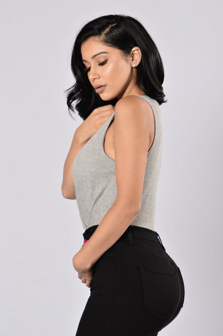 Wild Spirit Bodysuit - Heather Grey