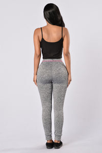 Feel The Burn Pants - Pink Angle 5