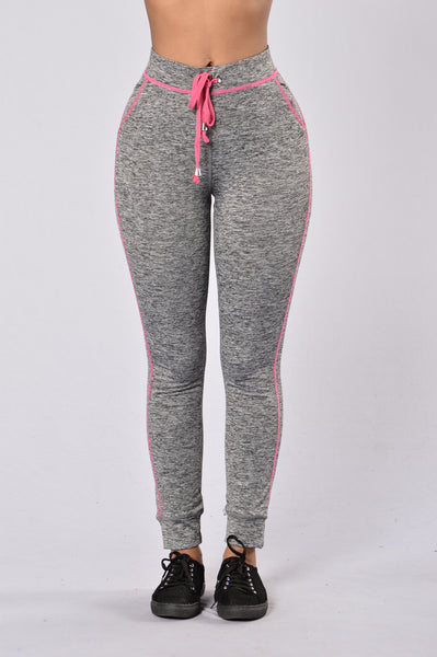 Feel The Burn Pants - Pink