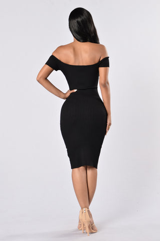 Crush On Me Dress - Black