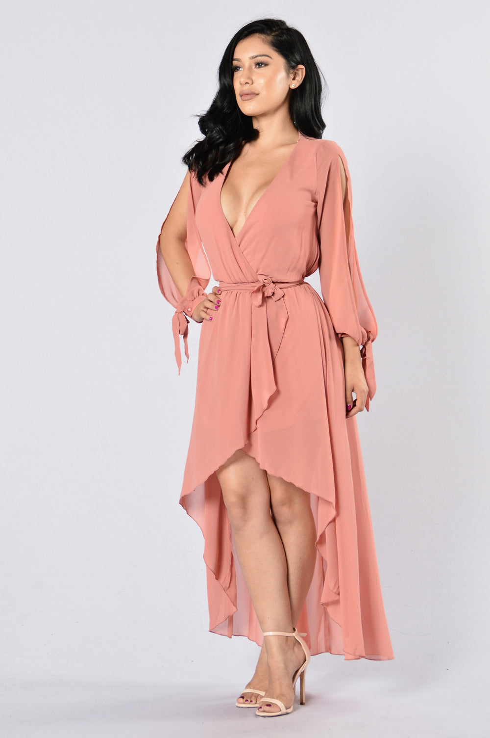 Missy Dress - Mesa Rose