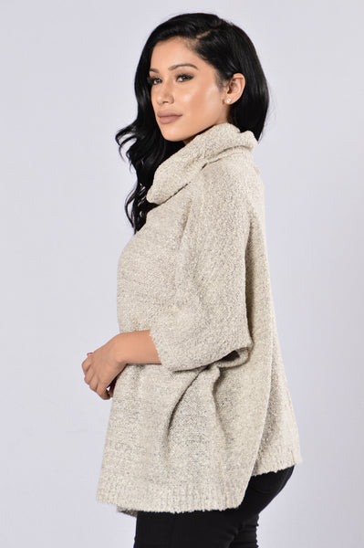 Under Wraps Sweater - Grey