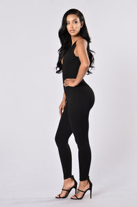 Be Quick Jumpsuit - Black