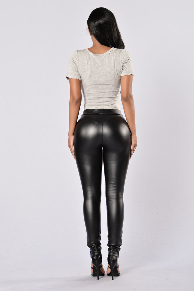 Zip It Pants - Black