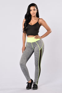 Go For A Run Pants - Yellow