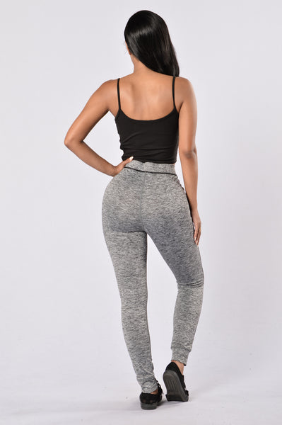Feel The Burn Pants - Black