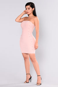 Breanne Bandage Dress - Mauve