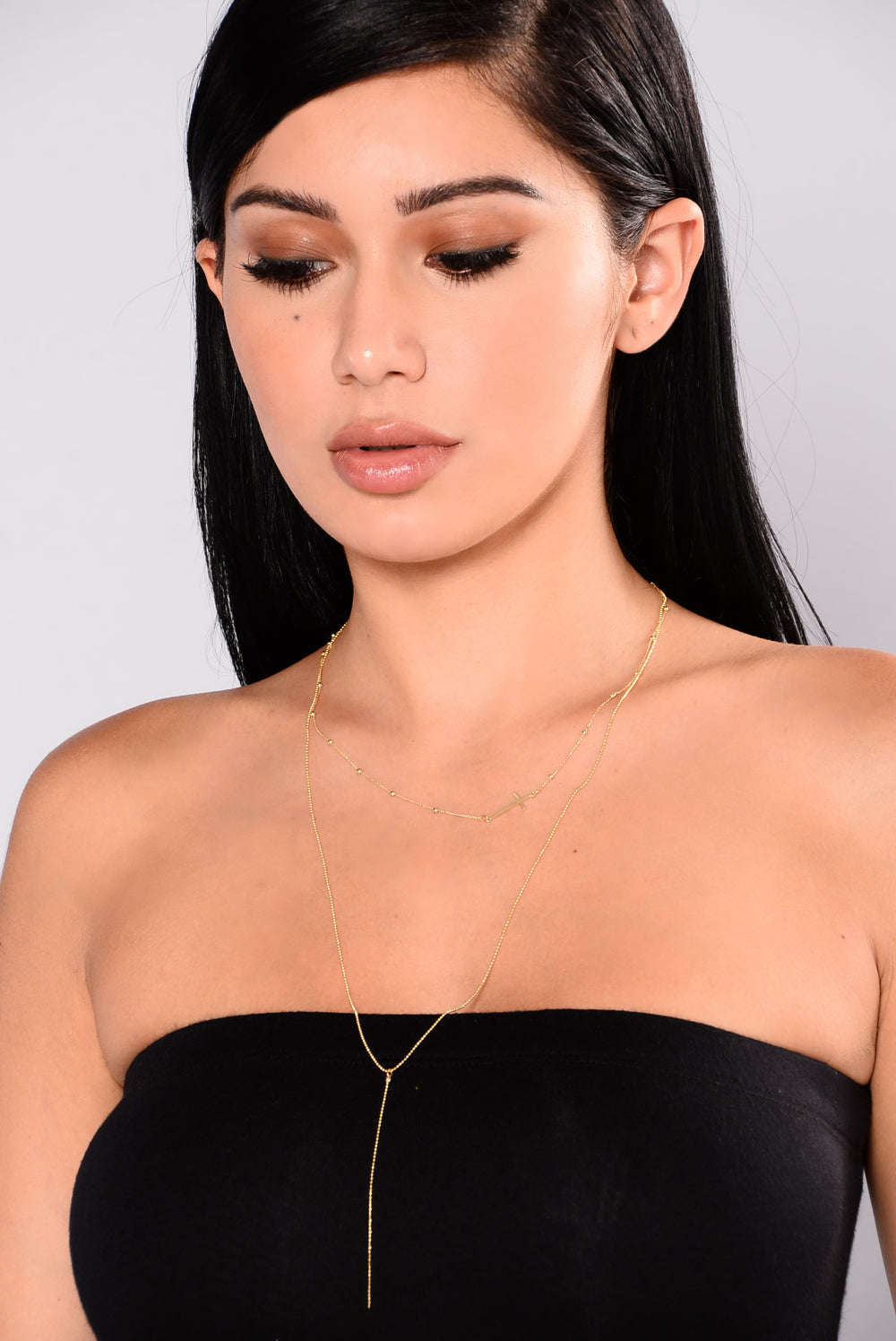 Renee Layered Necklace - Gold