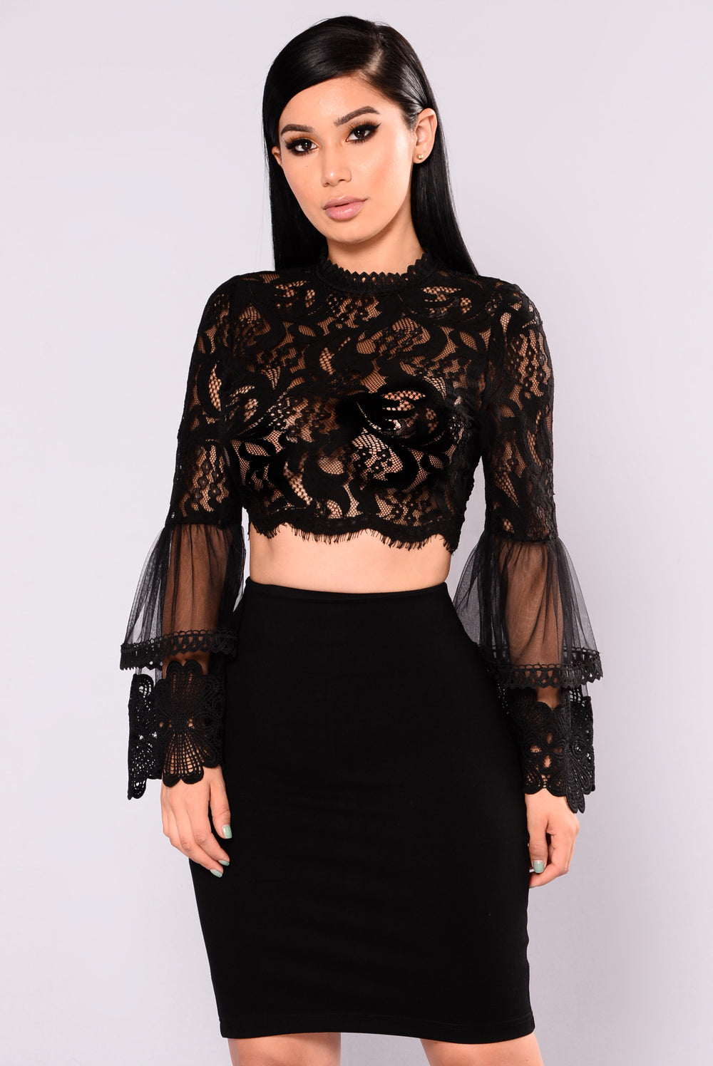 Mad City Lace Crop Top