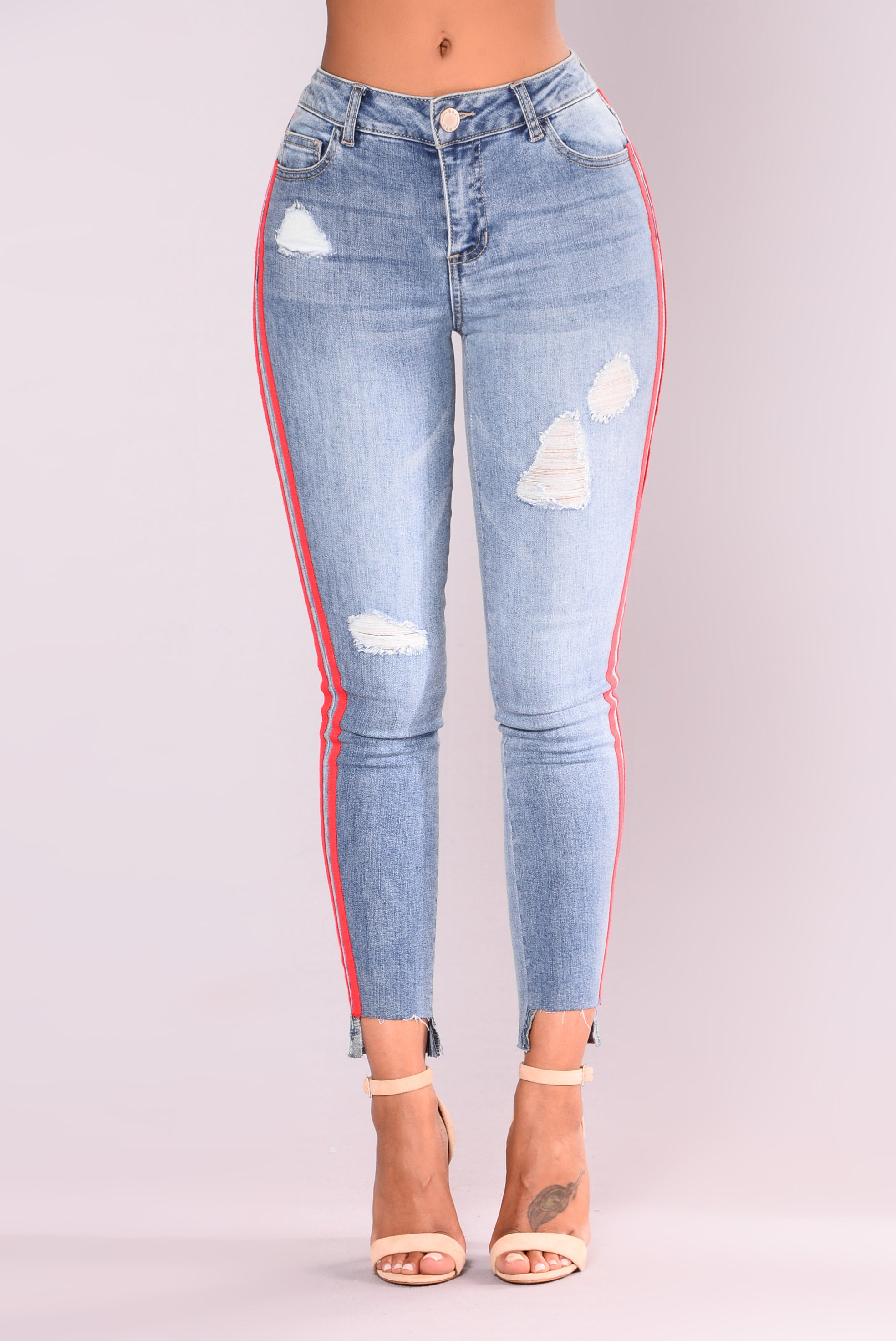 7f3681ad01abe2 Athlete Jeans - Blue Red