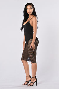 Off Limits Dress - Black Angle 3