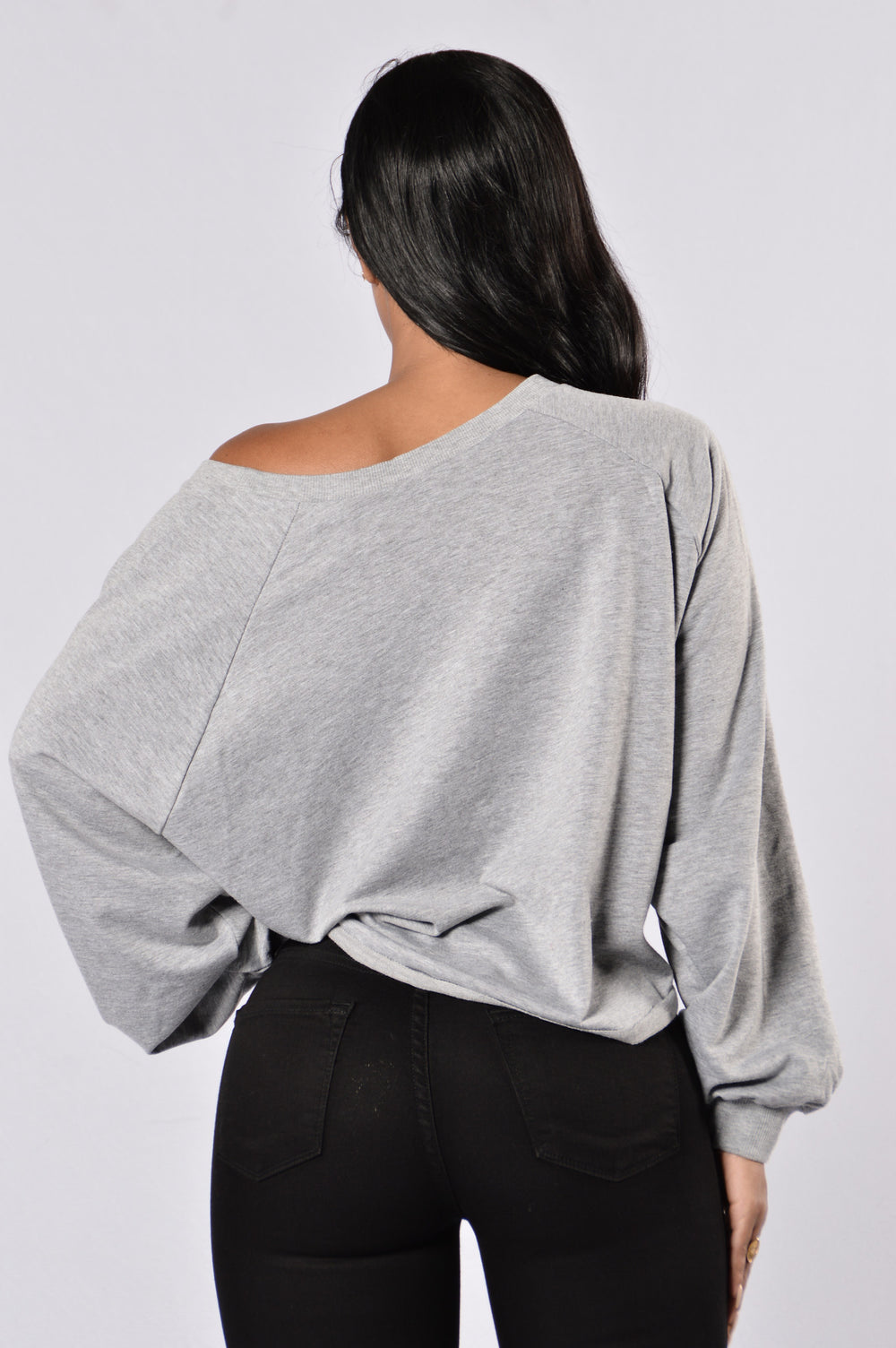 Street Style Sweater - Heather Grey