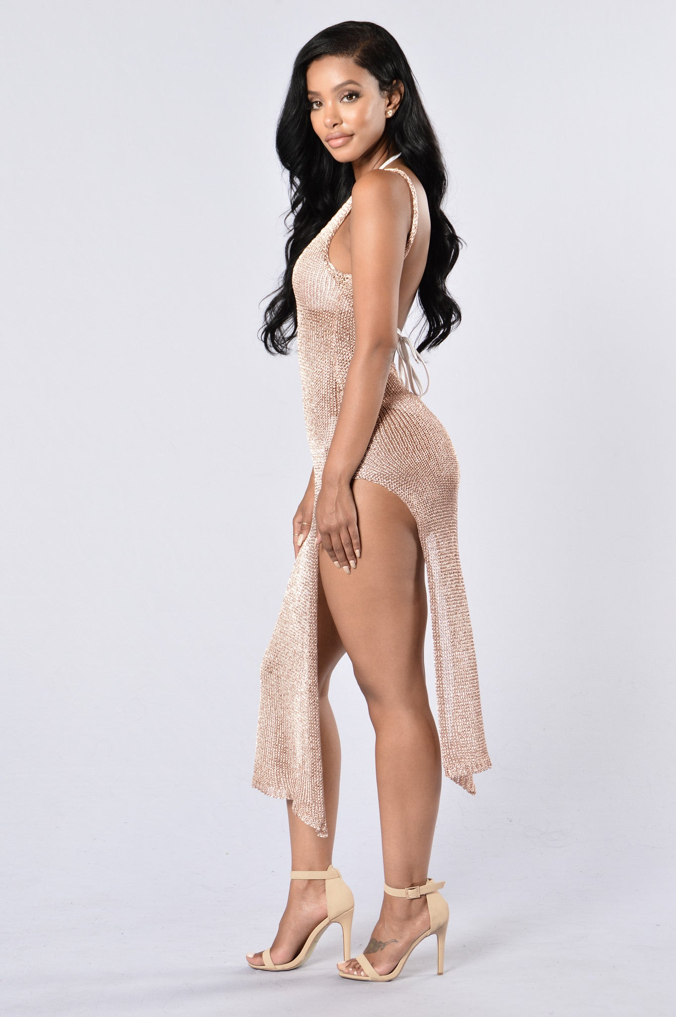 Fashion Book Cover Ups ~ Fiji cover up dress rose gold