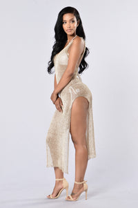 Fiji Cover Up Dress - Gold