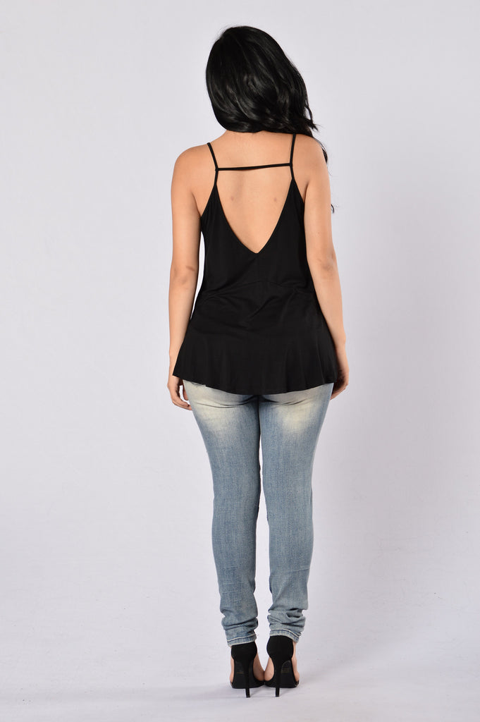Barracuda Top - Black