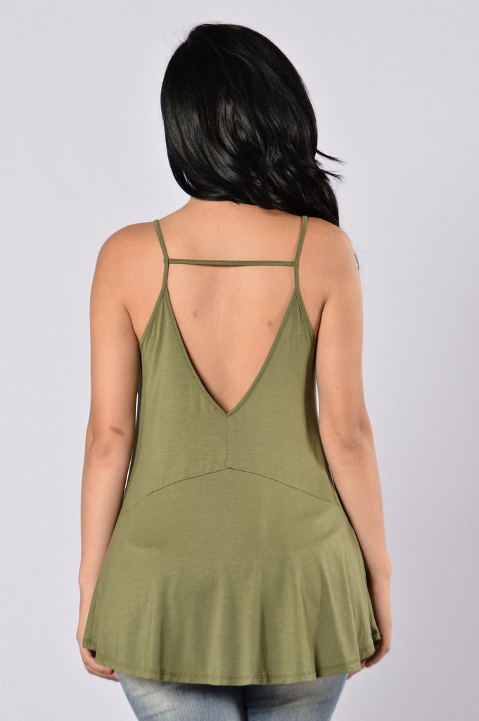 Barracuda Top - Olive