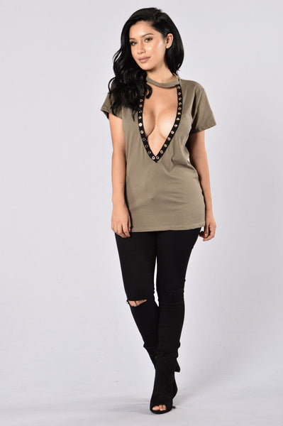Summer Sixteen Top - Olive
