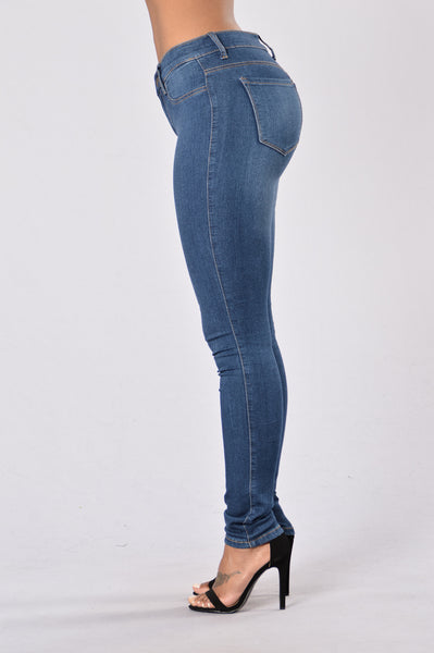 Perfect Jeans - Medium Blue