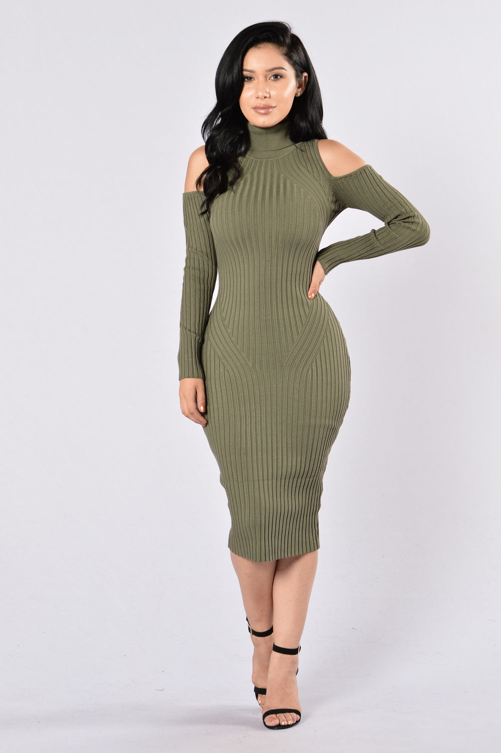 Second Date Dress - Olive