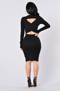 The Hottest Ex Dress - Black Angle 2