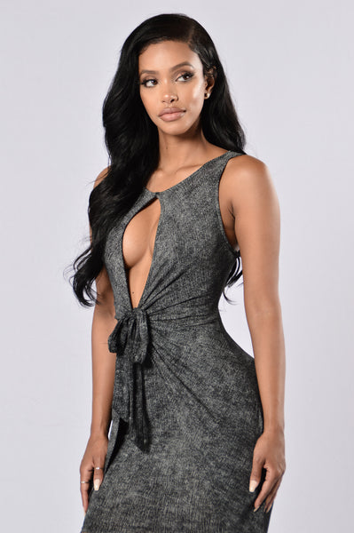 Missing Me Dress - Black