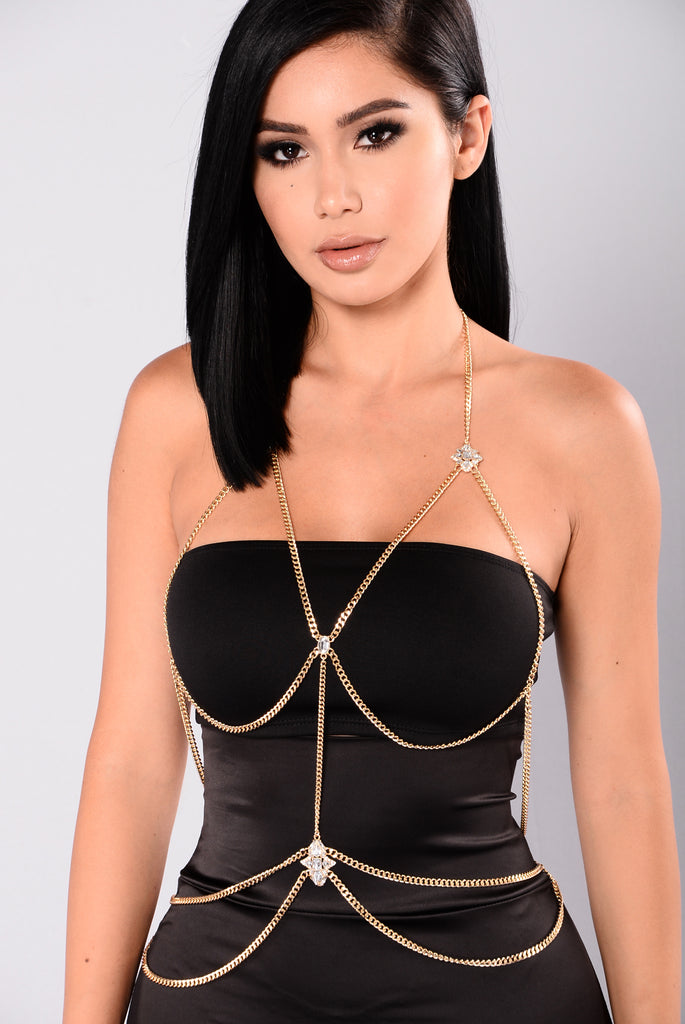 Juliana Body Chain - Gold