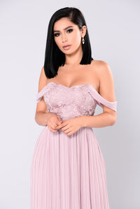 Allure Maxi Dress - Mauve