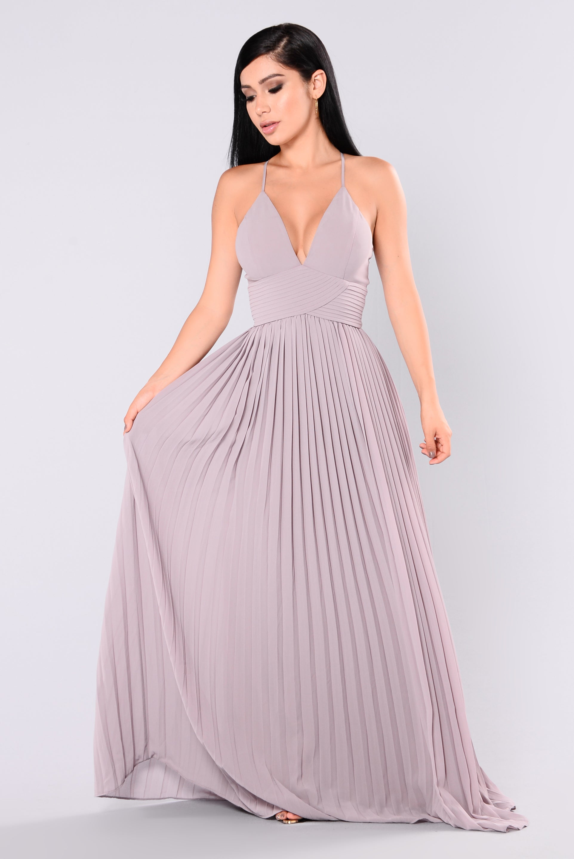 Lure Maxi Dress - Taupe