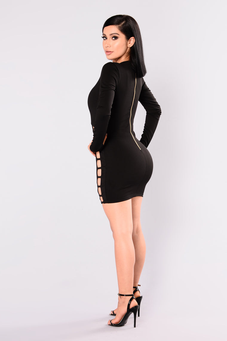 Double Dare Dress - Black