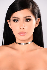 Basic Needs Choker - Silver