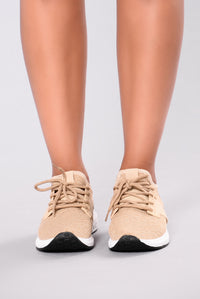 Constance Sneaker - Taupe