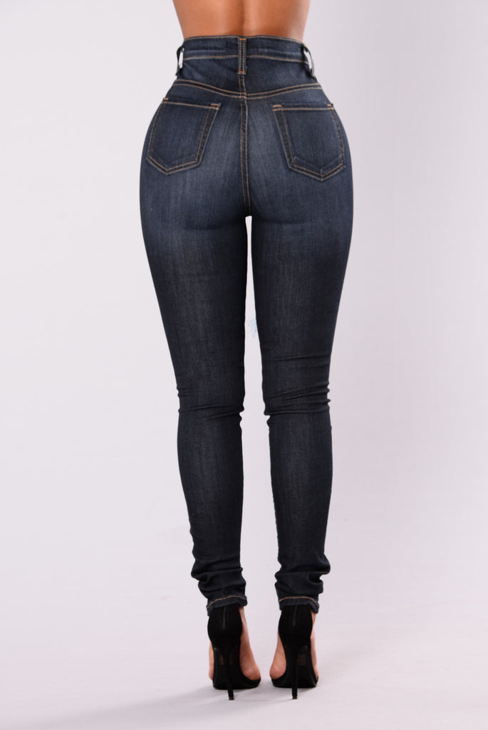 Aurora Skinny Jeans - Dark Denim