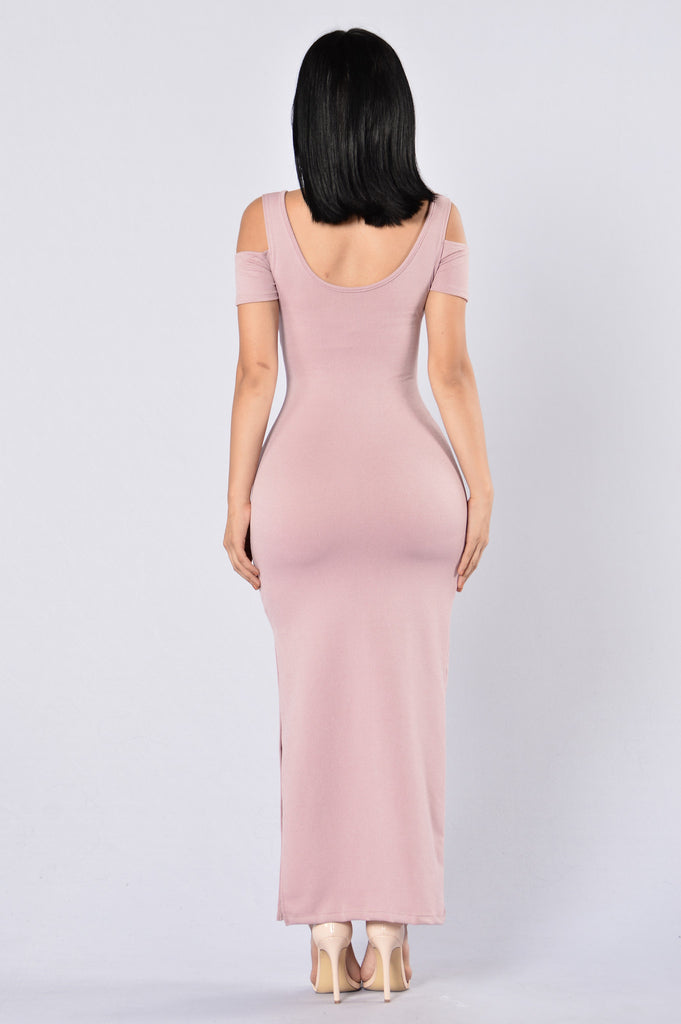 Enchanting Dress - Dusty Pink