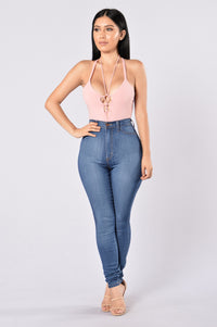 High Alert Bodysuit - Pink