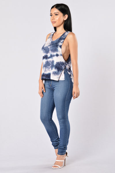 Didn't They Tell You? Top - Navy