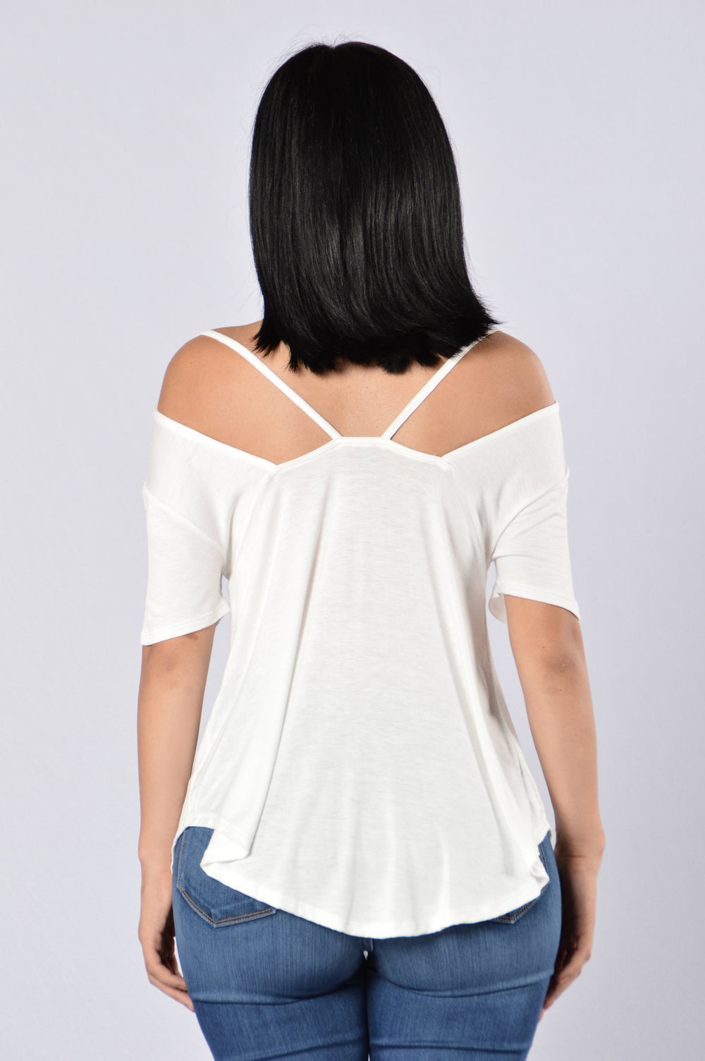 Sweet Sundaze Top - White