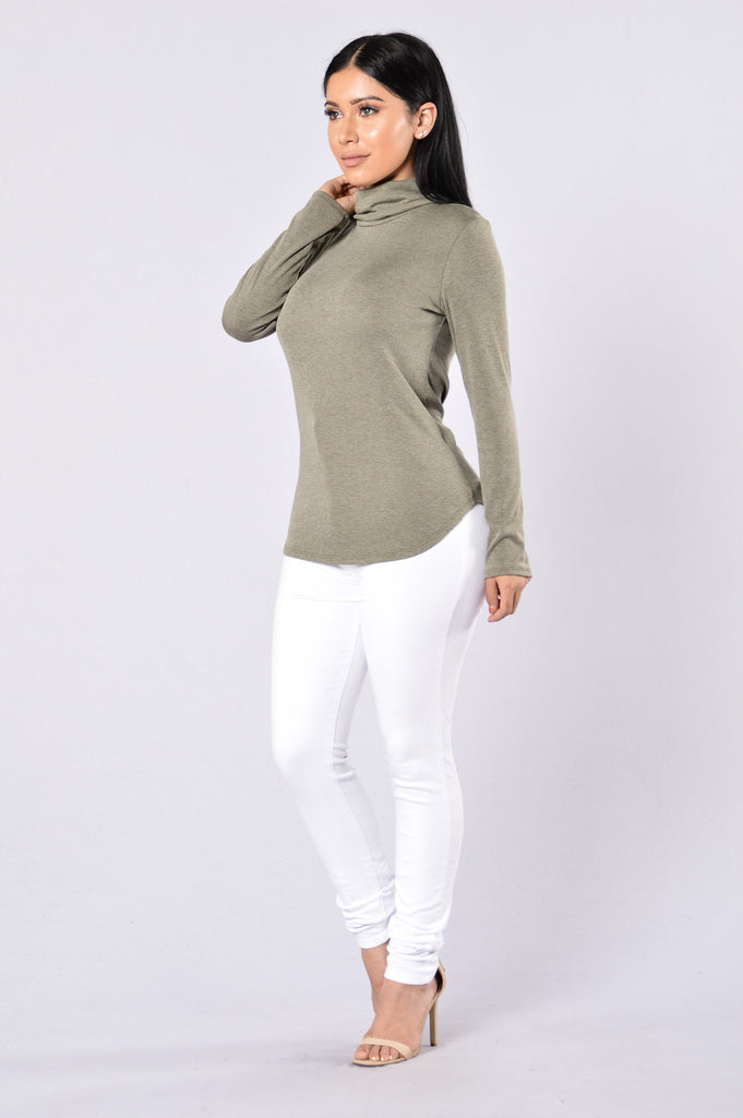 Cold Blooded Top - Olive