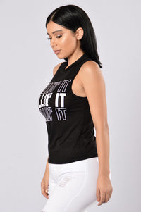 Always Killin' It Tank Top - Black