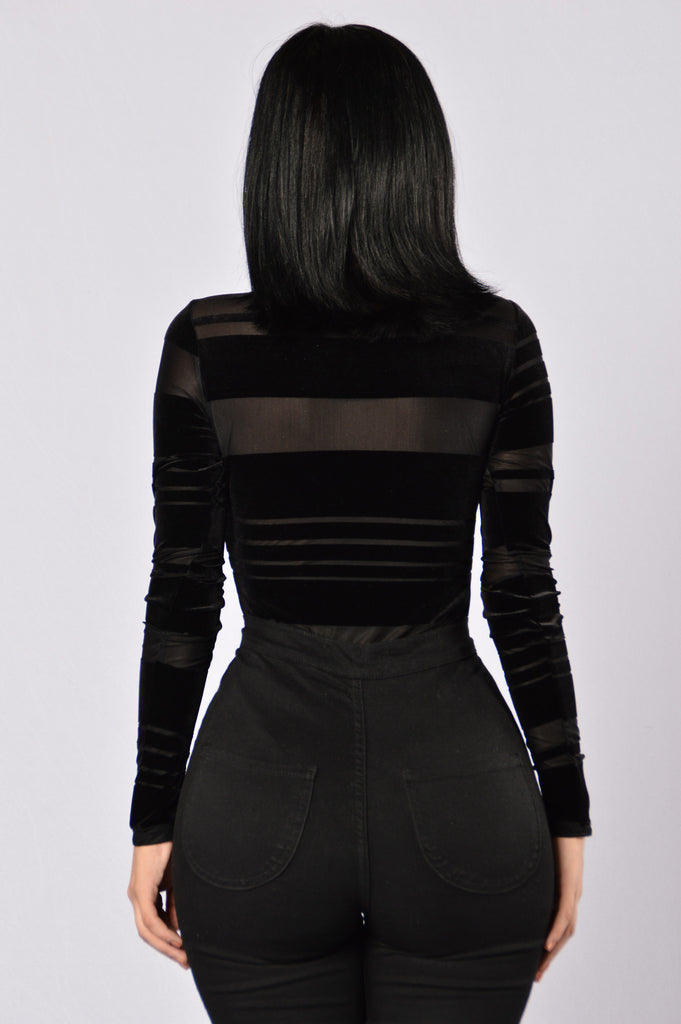 Burnout Bodysuit - Black