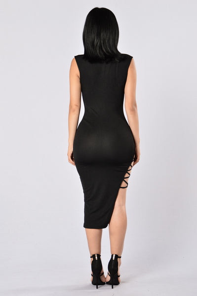 No Mercy Dress - Black