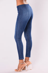 No Self Control Jeggings - Medium