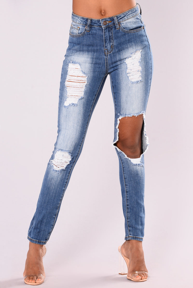 Adalyn Skinny Jeans - Medium Wash