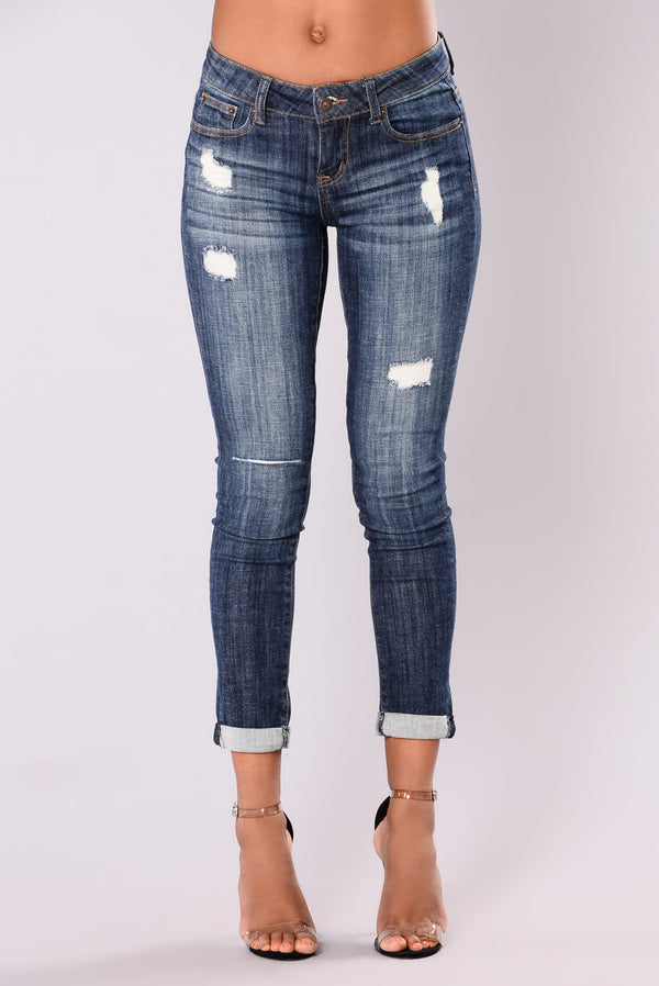 33d5b243b75e All I Do For You Crop Jeans - Dark Wash